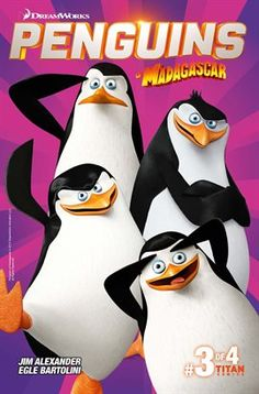 The adventures of Skipper, Kowalski, Rico and Private continue in DreamWorks' Penguins of Madagascar new 4-issue comic series. Brought to you by comedy genius Alex Matthews (Phoenix, Dandy) with eye-popping art from Lucas Fereyra, feathers are set to fly in this unique and exciting – and very funny – new series.