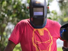 Grundy is our Iron Man! #welding