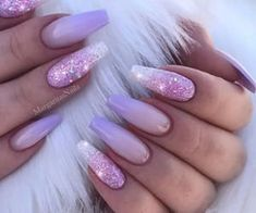 66 Gorgeous Purple 💜 Nails Design (Acrylic, Matte, Round Nails) You May Try in Prom – Makeup & Nail Ideas Purple Nail Designs, Nail Art Designs, Nails Design, Nail Art Modele, Hair And Nails, My Nails, Matte Nails, Chrome Nails, Purple Ombre Nails
