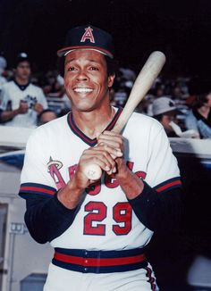 Rod Carew - California Angels