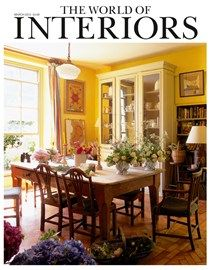 Emma Peascods Gilded Glass Panels For Studio Reed In World Of Interiors March 2015
