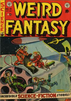 Cover for Weird Fantasy (1951 series) #14