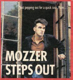 Mozzer Steps out