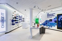 Nokia flagship store - Sundae Creative & 1RetailProject, Helsinki store design
