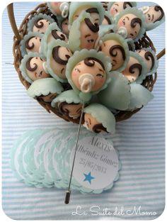 La Suite del momo: El bautizo de Alexis Baby Chower, Baby Candy, Polymer Clay Dolls, Pasta Flexible, Cake Decorating, Candies, Babys, Showers, Shower Ideas
