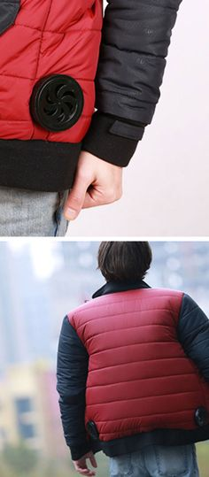Perfect for Back to the Future fans: one brand is making the films self drying jacket a reality