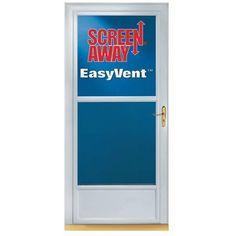 Larson Screen Away Storm Door
