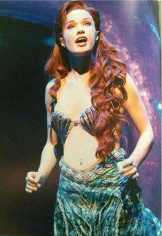 Sierra Bogess in The Little Mermaid. So lovely.