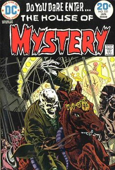 House of Mystery #221 - Bernie Wrightson art & cover