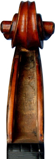 Violin by Jean Baptiste Vuillaume - (Serial No. 2) - Scroll Front View