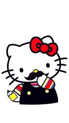 手机壁纸♥-☞{Hello Kitty}☜-堆糖,美好生活研究所