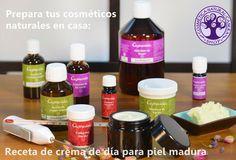 Cosmética Natural Casera Blog: Receta crema casera de día con colágeno para piel madura