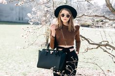 Get this look: http://lb.nu/look/8251121  More looks by Julia: http://lb.nu/juliafashionista  Items in this look:  Forever 21 Hat, Bcbg Blazer, No Weekends Sunnies, Angela Roi Bag   #artistic #chic #street