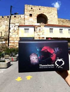 """For the ultimate """"wandering experience"""" in town , explore Thessaloniki in Virtual Reality ! Download Thessaloniki VR & Thessaloniki VR (UNESCO edition) on your mobile phone and feel the heartbeat ! Thessaloniki, In A Heartbeat, Virtual Reality, Vr, Android Apps, Explore, Phone, Telephone, Mobile Phones"""