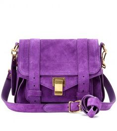Proenza Schouler PS1 POUCH SUEDE SHOULDER BAG at ShopStyle My lovely bag