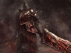 Fume Knight (Fanart of DARK SOULS 2) by seki88441