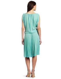 BCBGMAXAZRIA Women's Lona Draped Bodice Pleated Skirt Dress in Light Aqua Pleated Skirt, Dress Skirt, Bcbgmaxazria Dresses, Bodice, Aqua, Summer Dresses, Skirts, Fashion, Pleated Skirt Outfit