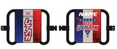 038-SUB USA Wrestling Utah Large Cinch Bag