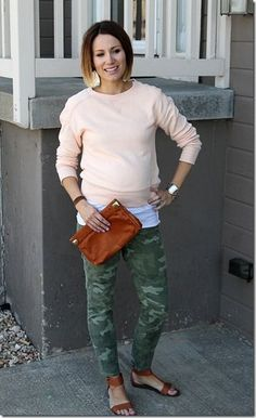 ONE little MOMMA: WIWW- Casual Maternity Style - Total Street Style Looks And Fashion Outfit Ideas