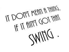 DoWa DoWa DoWa DoWa DoWaaaaa.  The song to my favorite tap dance.