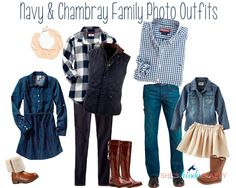 family photo outfits Family Photos What to Wear Navy Family Pictures, Fall Family Picture Outfits, Family Portrait Outfits, Family Photo Colors, Family Pictures What To Wear, Winter Family Photos, Outdoor Family Photos, Family Portraits, Family Pics