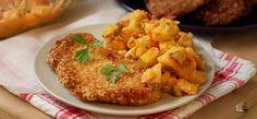 Gotujemy z Lidl: Sznycel w panierce owsianej z sałatką z ziemniaków