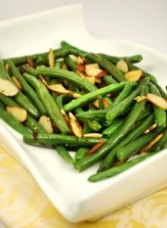 Green Beans with Almond Slices Recipe