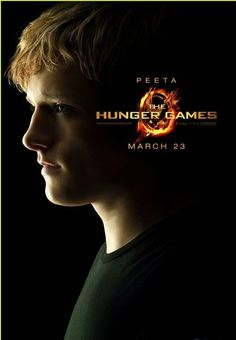Die Tribute von Panem / The Hunger Games Poster Peeta Mellark