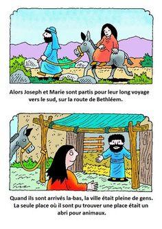 La naissance de Jésus …