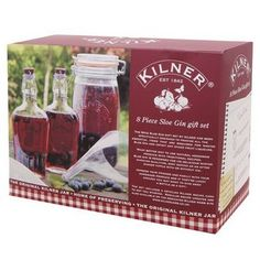 The Kilner 8 piece Sloe Gin Gift Set has been specifically designed to provide all the essential items that are required for making sloe Gin and in fact any other fruit liqueurs. Kilner 8 piece Sloe Gin Set - Harrod Horticultural http://www.harrodhorticultural.com/kilner-8-piece-sloe-gin-set-pid9337.html