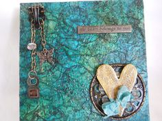 Mixed Media Canvas Art by RestyleVintageFinds