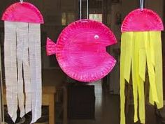 Image result for weaving fish craft for preschool