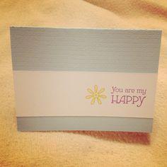 "An ""I love you"" card"