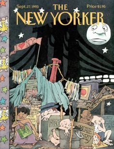 "The New Yorker - Monday, September 1993 - Issue # 3578 - Vol. 69 - N° 31 - Cover ""I Love New York"" by Maurice Sendak The New Yorker, New Yorker Covers, Collages, Maurice Sendak, Magazine Art, Magazine Covers, Read Comics, Vintage Posters, Cover Art"