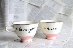 """I love you.I know.takes me to a happy place sharing tea, speaking of happy things, in a friendship where """"i love you"""" is unspoken yet understood. Coffee Cups, Tea Cups, Lazy Sunday Morning, Morning Coffee, Coffee Break, I Love You, My Love, Bohol, My Cup Of Tea"""
