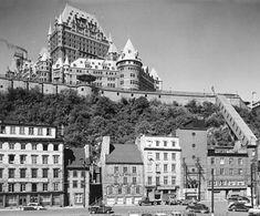 La rue Dalhousie en 1952