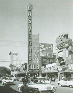 Las Vegas Club - the way the strip used to be