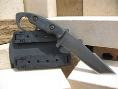 OKT Tactical Knife, very unique design catering to the dynamic entry specialist or anyone needing that CQB edge.