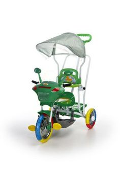 Tricycle Motocyclette vert- www.e-funkybaby.fr #efunkybabyfr #tricycle #vert