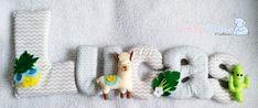 Felt Llama Garland Name Banner, Mexican theme Wall Decor, Pinneaple, Llama, Cactus Nursery Sign Felt Baby Mine, Nursery Signs, Tropical Party, Name Banners, Sensory Toys, Nursery Neutral, All The Colors, Mexican, Wall Decor