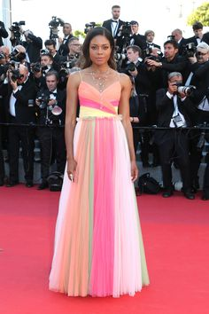 Naomie Harris in Gucci. Photo: Gisela Schober/Getty Images