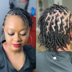 RETWIST LOC CULTIVATION!  LOCMAMAS.COM Natural Hair Care, Natural Hair Styles, Women With Dreadlocks, Hair Places, Starter Locs, Dreadlock Hairstyles, Big Chop, Faux Locs, Crochet Braids
