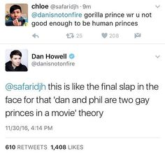 CAN HE FUCKING BLAME US FOR SHIPPING THEM BECAUSE UH-UH I DON'T THINK SO