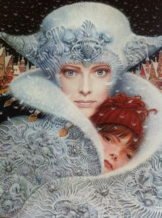 The Snow Queen by Vladyslav Yerko