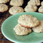 Chewy Coconut Oatmeal Cookies | A Hint of HoneyA Hint of Honey