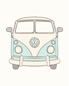 64 Trendy Cars De Disney Dibujos A Lapiz The Effective Pictures We Offer You About cars accessories A quality picture can tell you many things. Tumblr Stickers, Cute Stickers, Van Stickers, Kombi Hippie, Van Drawing, Bus Art, Pencil Drawings Of Animals, Volkswagen Bus, Vw Camper