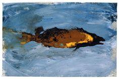 Miquel Barceló, Pejeperro I (Schweinsfisch I), 2001, Mischtechnik auf Leinwand, 64,5 x 98 cm, Privatbesitz, Courtesy Galerie Bruno Bischofberger, Zürich © Courtesy Miquel Barceló