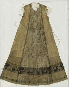 Woman's dress (sleeves detached), 2nd half of 16th century, German?