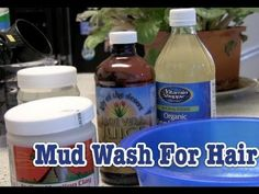 How To: Make Your Own Clay Wash For Hair    Ingredients   Bentonite Clay (Aztec Healing Clay) 1 cup  Aloe Vera Juice 1/2 cup  Apple Cider Vinegar 1/4 cup  Coconut oil 1/4 cup  2-3 drops of Rosemary Essential Oil (use your favorite EO, this is also optional)     Mix, apply to damp/wet hair and leave on fo... #acv