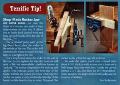 Vise Rocker Jaw - Workshop Solutions
